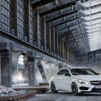Mercedes-Benz CLA 45 AMG revealed in New York