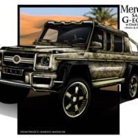 Mercedes G63 AMG 6x6 Sahara G-eopard by Dartz
