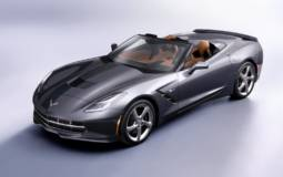 New 2014 Corvette Stingray Convertible has arrived in Geneva