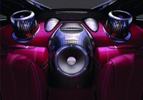 Pagani Huayra will come to Geneva with a 1200W Sonus Faber audio system