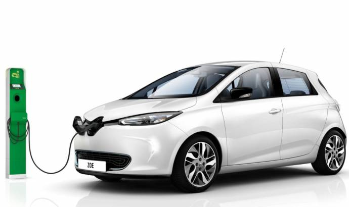 Renault Zoe electric car, priced from 13.650 pounds in the UK