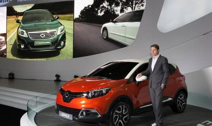 Samsung QM3 is Renault Captur s Koreean brother