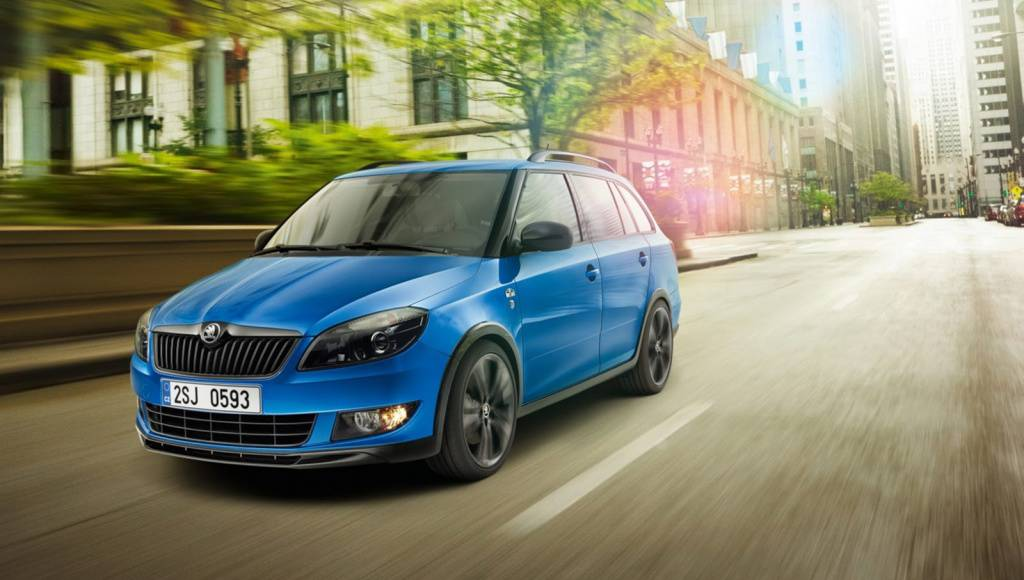 Skoda Fabia Combi Monte Carlo and Roomster Noir unveiled in Geneva