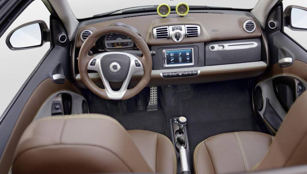 Smart ForTwo BoConcept revealed ahead Geneva debut