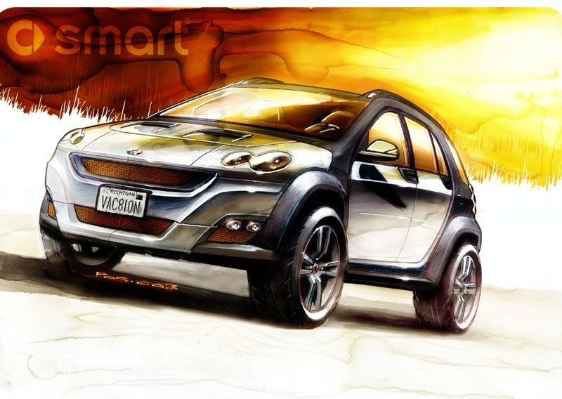 Smart will launch an SUV in 2016