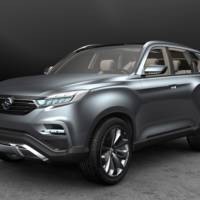 Ssangyong LIV-1 official photos revealed ahead of Seoul Motor Show