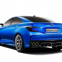 Subaru WRX Concept - press release and complete photo gallery