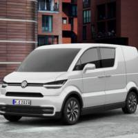 Volkswagen e-Co-Motion Concept was unveiled in Geneva