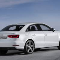 2014 Audi A3 Saloon officially revealed