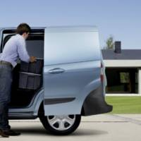 2013 Ford Transit Courier unveiled in Birmingham
