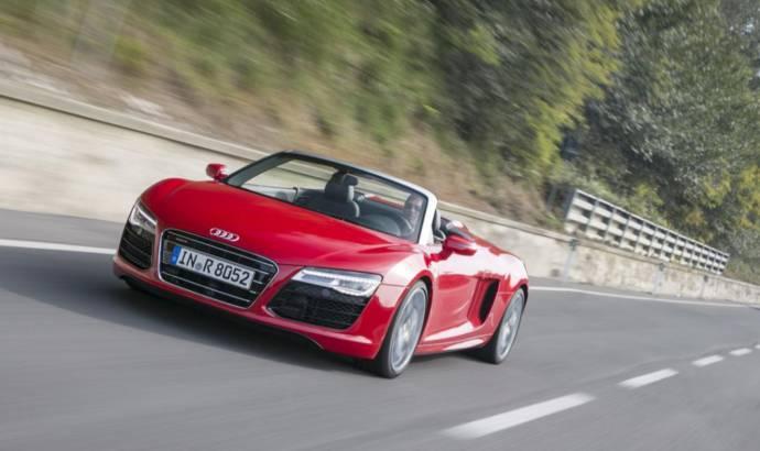 2014 Audi R8 starts at 114.900 dollars on the US market