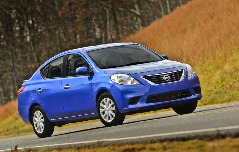 2014 Nissan Versa Sedan priced at 11.990 dollars in US