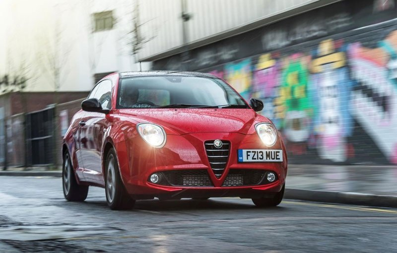 Alfa Romeo MiTo Live, available at 16.590 pounds in UK