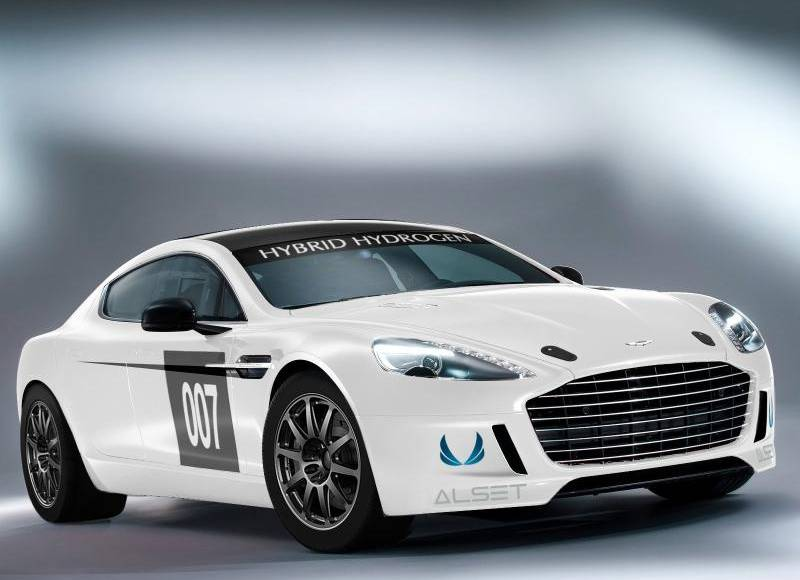 Aston Martin Rapide S Hydrogen-powered to tackle the Nurburgring 24h race