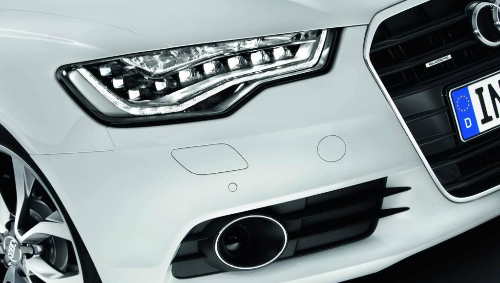 Audi LED technology, certified by the European Union