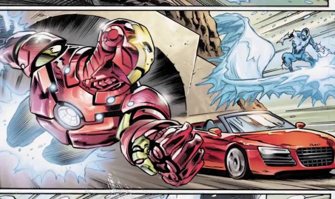 Audi and Marvel invites you to Steer the Story of Iron Man 3