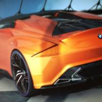 BMW MZ8 Concept - a tribute to BMW Z8 and 8 Series