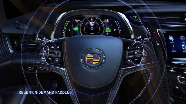 Cadillac ELR introduces energy regeneration on demand