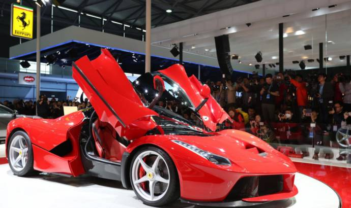 Ferrari LaFerrari debuts in Shanghai Auto Show. Only 50 units reserved for China