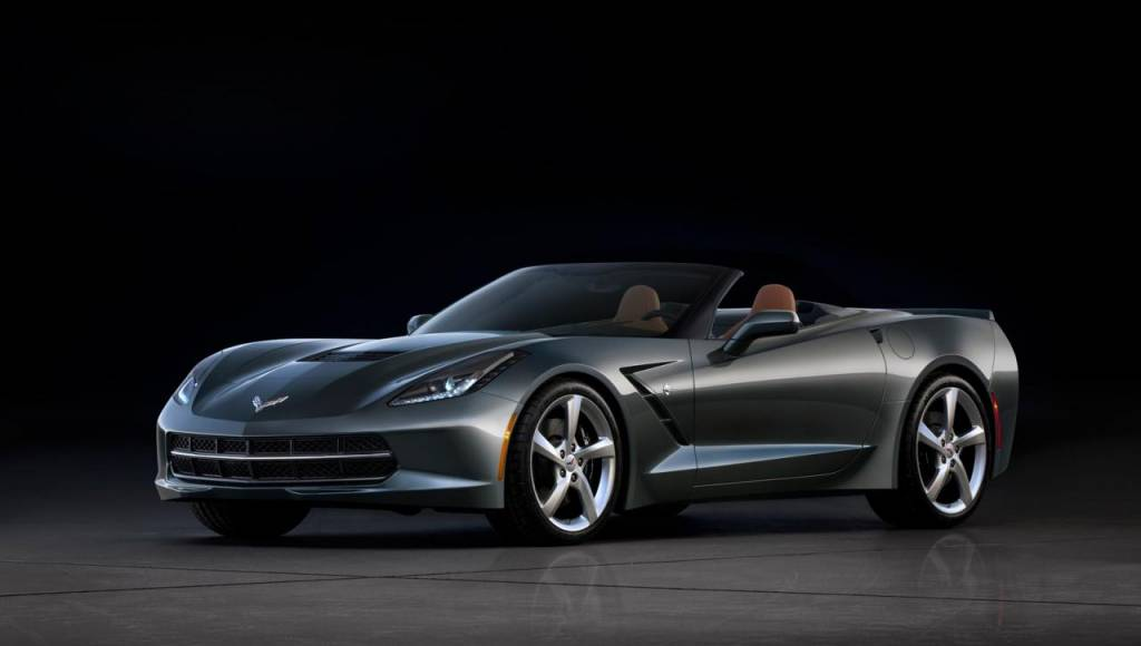 First Corvette Stingray Convertible sold for 1M Dollars at auction