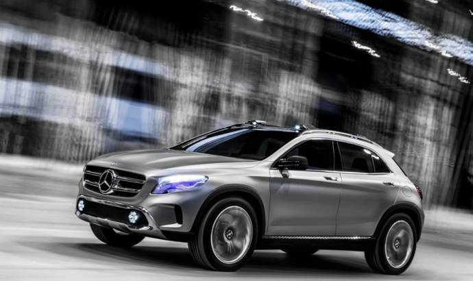 First video of the upcoming Mercedes-Benz GLA Concept