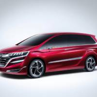 Honda M Concept unveiled in Shanghai Auto Show