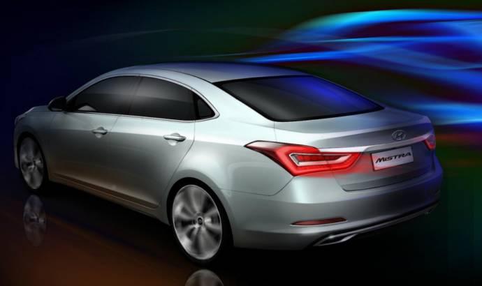 Hyundai Mistra concept envisions a future sedan for China