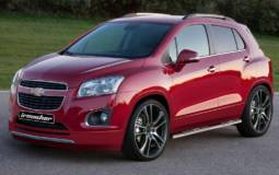 Irmscher Chevrolet Trax, first tuning for the small SUV