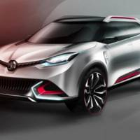 MG CS Concept - first unofficial photos
