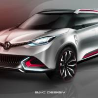 MG CS Concept to be unveiled in Shanghai Motor Show
