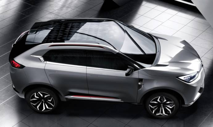 MG CS Concept unveiled in Shanghai Auto Show