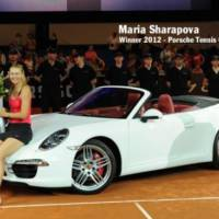 Maria Sharapova is the new Porsche ambassador