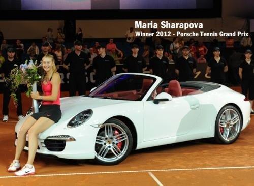 Maria Sharapova is the new Porsche ambassador
