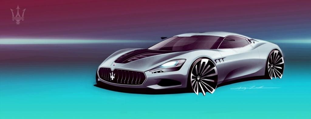 Maserati GranCorsa Design Study