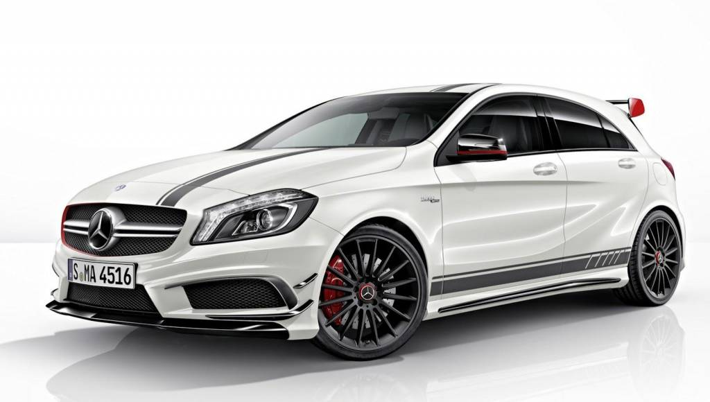 Mercedes A45 AMG Edition 1, available at 49.682 euro in Germany