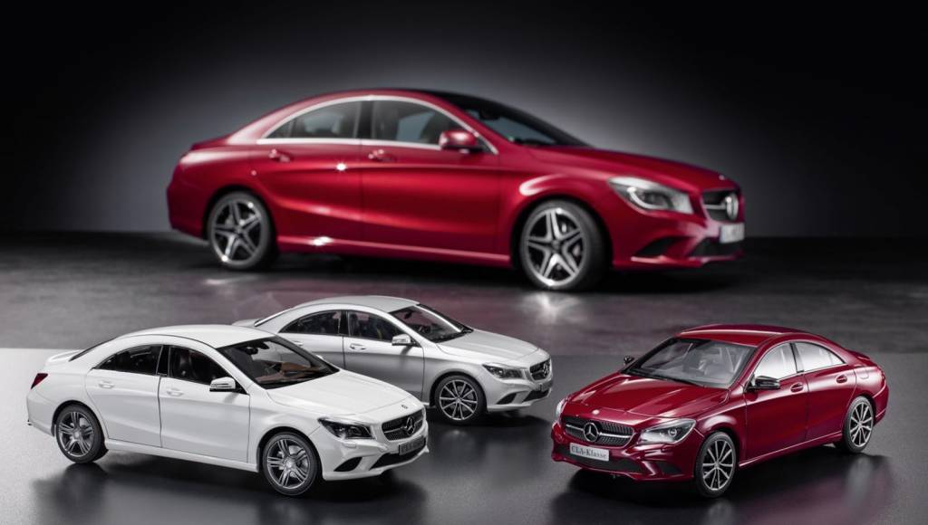 Mercedes-Benz CLA scale model starts from 29.90 Euros