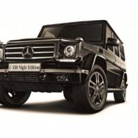 Mercedes-Benz G550 Night Edition - only for Japan