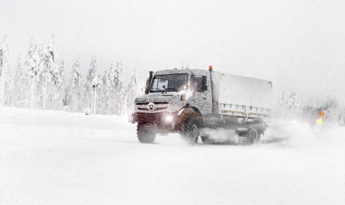 Mercedes-Benz Unimog and Econic - first official spy photos
