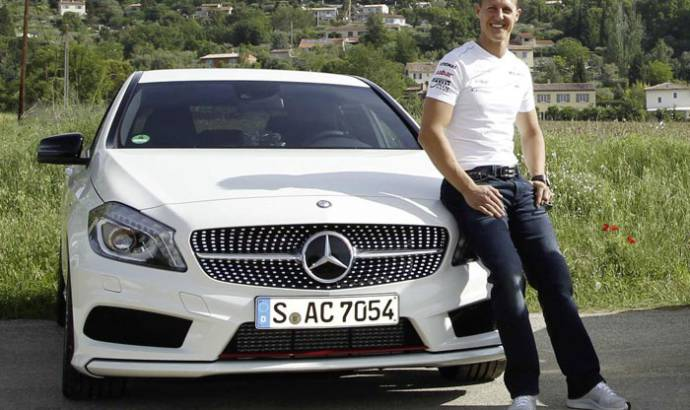 Michael Schumacher will help developing safety systems for Mercedes