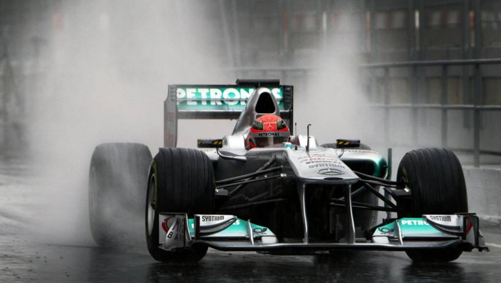 Michael Schumacher will tackle the Nurburgring in 2011 Mercedes F1 car