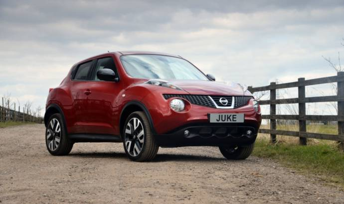 Nissan Juke n-tec available at 16.295 pounds in the UK