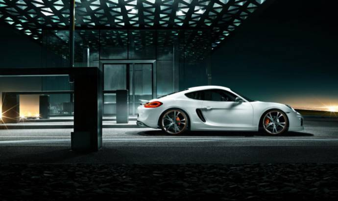 Porsche Cayman modified by TechArt