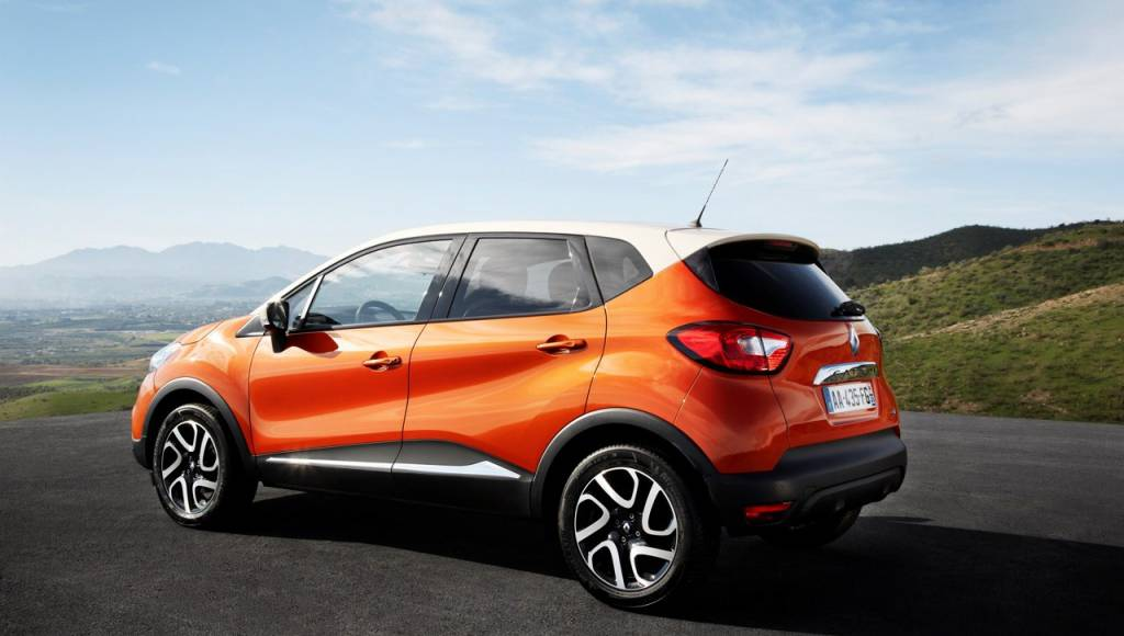 Renault Captur starts at 12.495 pounds in UK