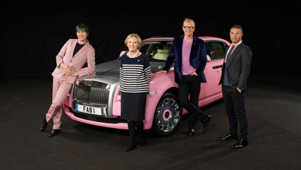 Rolls Royce Ghost for Breast Cancer Care
