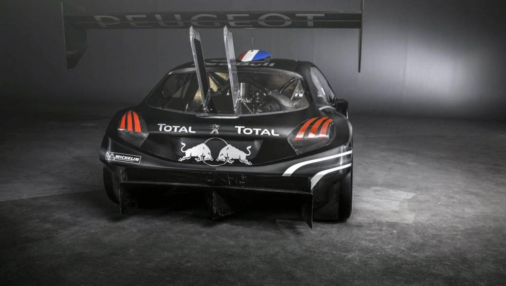 This is the 2013 Peugeot 208 T16 Pikes Peak (+Video)