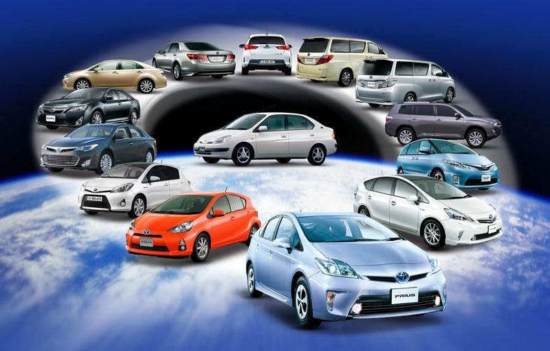 Toyota and Lexus hybrid sales reached 5 million units