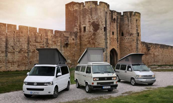 Volkswagen California celebrates its 25th year anniversary