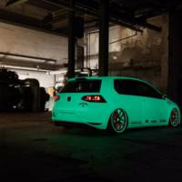 Volkswagen Golf 7 Light-Tron by Low Car Scene