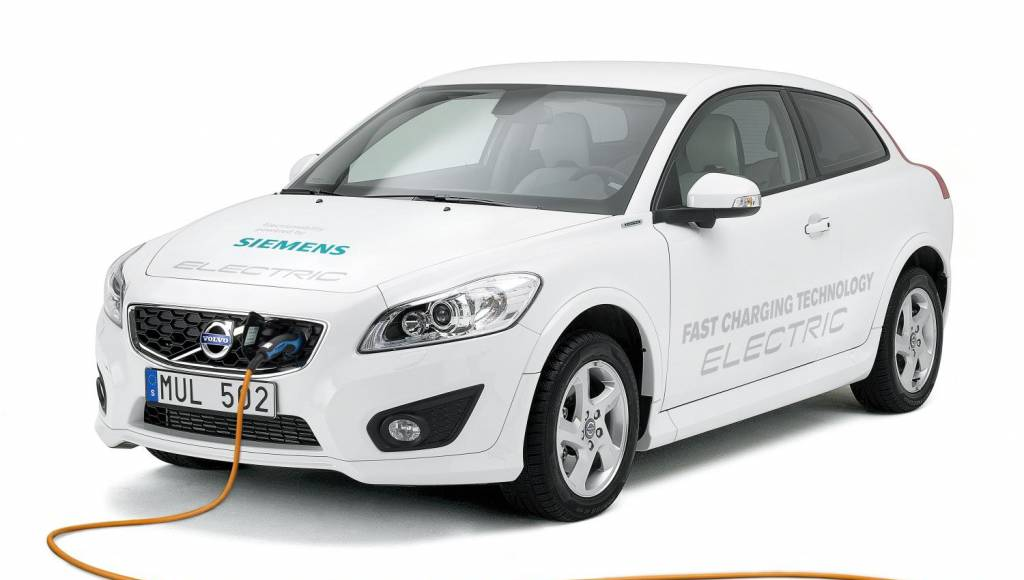Volvo C30 Electric gets updated and recharges in 1.5 hours