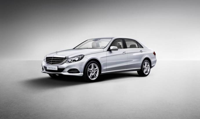 2013 Mercedes-Benz E-Class Long Wheelbase unveiled in Shanghai